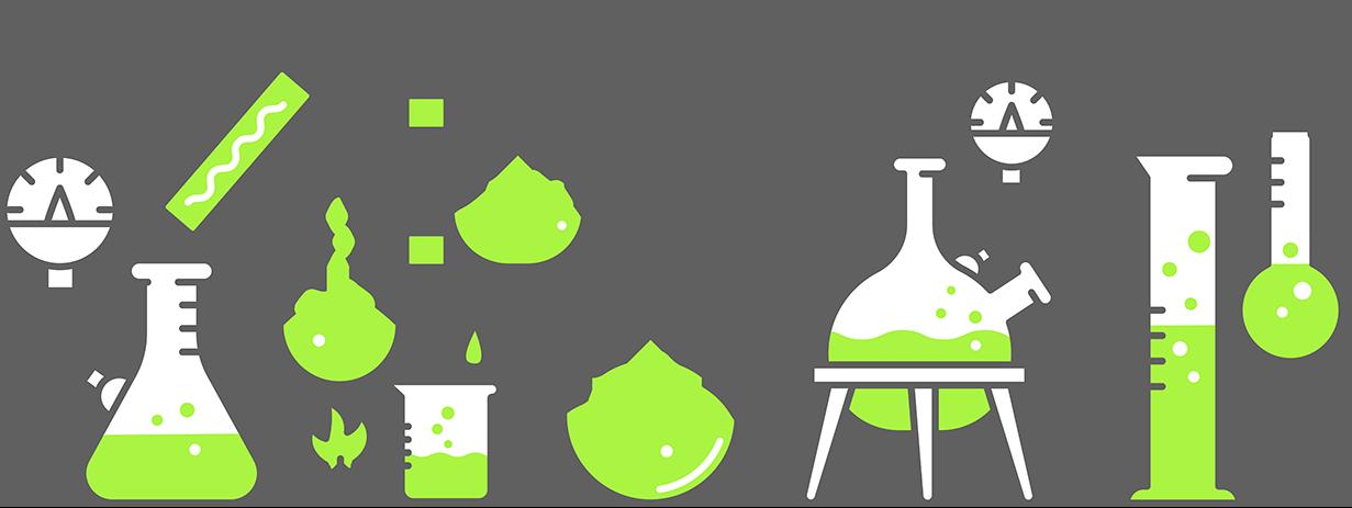 MyBiotech Grafik Labor grün