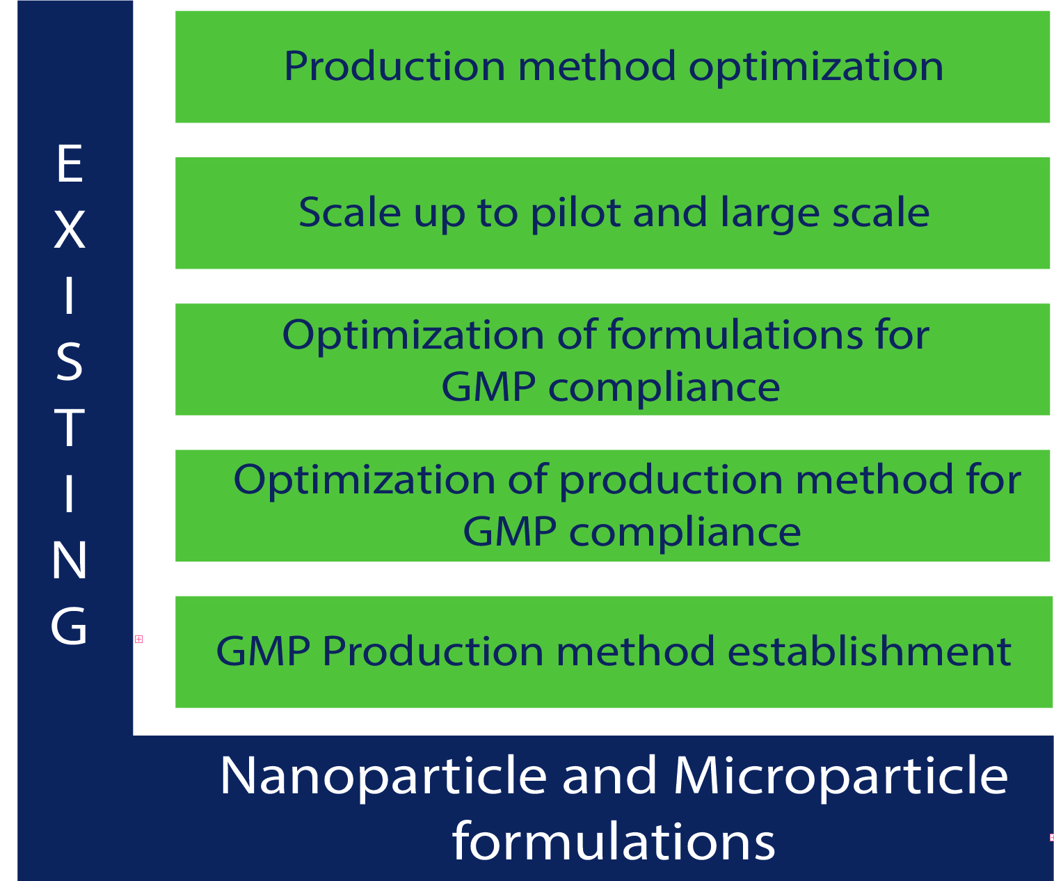 Existing - Nanoparticle and Microparticle formulations