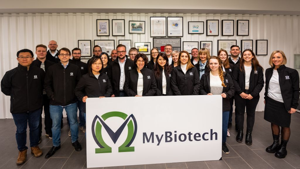 Group photo of MyBiotech GmbH